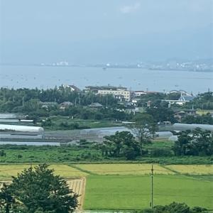 琵琶湖旅行 琵琶湖マリオットホテルにて