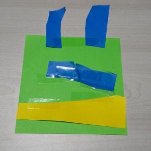 【工作】セロテープで子供の創作活動が活発になりました