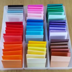 【おうちモンテ】おりがみ色板第3の箱完成しました