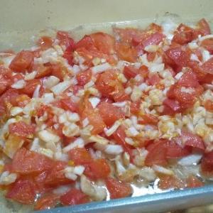 【ヘルシオ×セラベイク】鶏むね肉のトマトソースがけ