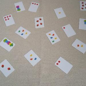 【ダイソー】かずカードで遊ぼう♪