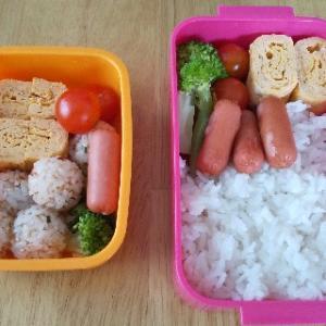 【ワンオペの日】お昼ごはん用にお弁当を作ると楽でした