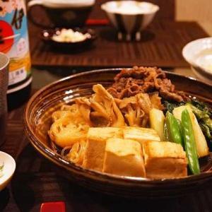 肉豆腐を作る