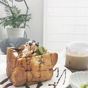 食パンを大変身させるレシピ✳︎簡単アレンジで朝からおうちでカフェ気分!