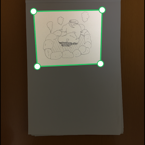 【Evernote+Medibang】の組み合わせで紙の絵をスマホで線画抽出する方法
