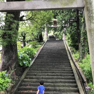 【子連れ旅行】熱海1泊2日④伊豆山神社と走り湯に行く
