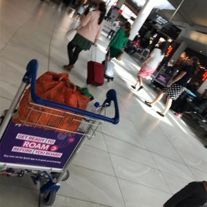 【ニュージーランド親子留学】オークランド空港から成田への帰路