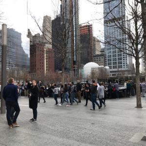 【ニューヨーク単身2人子連れ旅行】9.11メモリアルミュージアムへ行く