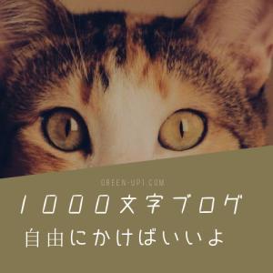 【ブログ運営】ブログ 文字数 1000文字以下