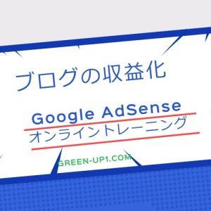 【ブログ運営】Google AdSenseオンライントレーニング(2020年8月)見ました❓