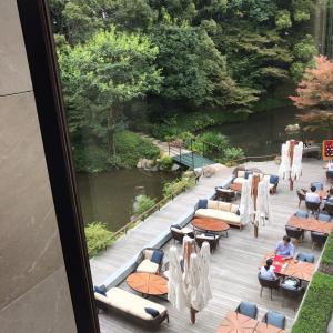 フォーシーズンズ京都の絶景アフタヌーンティー