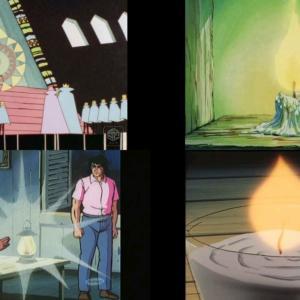 まんが世界昔ばなし12A話演出/コンテ:鳥と光と虹