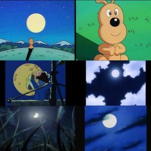 アンパンマン490B話脚本:月と男気