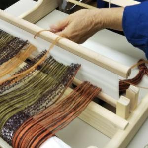 「手織りワークショップ」点描