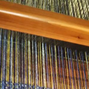 ラムウールの糸を使って(2)