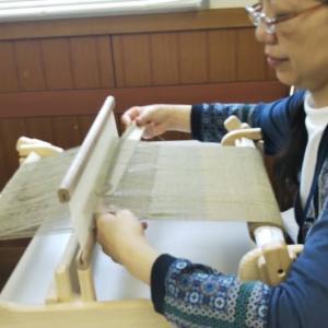7月の「手織りワークショップ」