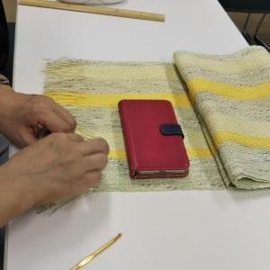 7月最後の「手織りワークショップ」