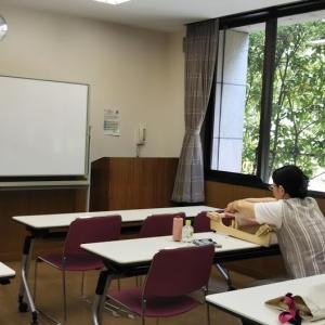 8月2回目の「手織りワークショップ」