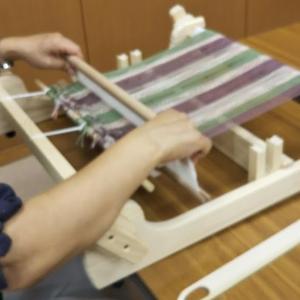 8月最後の「手織りワークショップ」