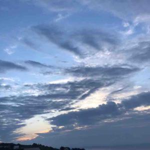 熱海の旅 朝の景色