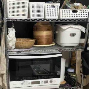 キッチンの収納の整理をしてみた