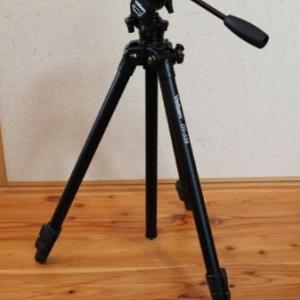 撮影に使っている三脚 ベルボン Velbon DV-538