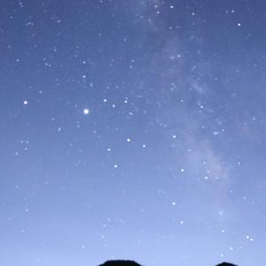 Canon EOS Kiss X10 晴天だったので天の川を撮影してみた