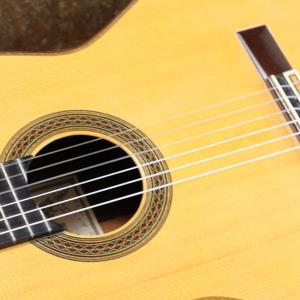 クラシックギター弦の交換をしました