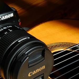 私にとってのギターとカメラのお話し
