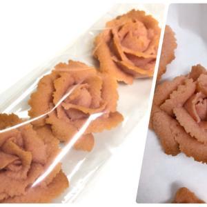 レシピ完成!!フラワークッキー