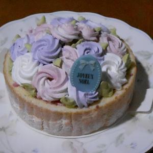 平成最後のクリスマスはちょーっと上品に、綺麗なケーキをいただきました♪