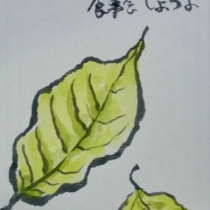 ツルセカルチャー教室 10月の絵手紙2