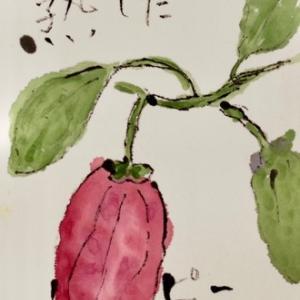 小山ヶ丘絵手紙教室 11月の絵手紙
