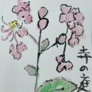 小山ヶ丘絵手紙教室 9月の絵手紙