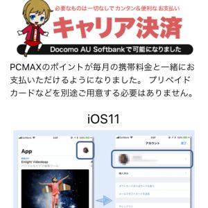 PCMAXのキャリア決済を使うのはこんな時!メリットデメリットも解説!