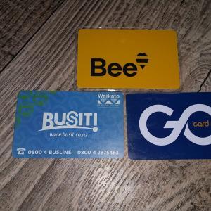 ニュージーランドのバスカード統合:Bee Card