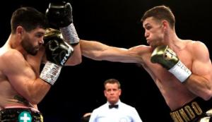 WBA世界スーパーミドル級王座統一戦 カラム・スミス VS ジョン・ライダー