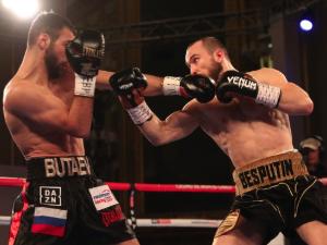 WBA世界ウェルター級王座決定戦 アレクサンダー・ベスプーチン VS ラジャブ・ブタエフ
