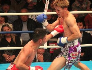 WBOアジアパシフィック スーパーフェザー級タイトルマッチ ジョー・ノイナイ VS 尾川堅一