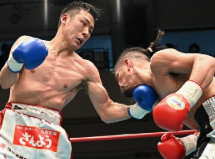 OPBFミドル級タイトルマッチ 細川チャーリー忍 VS 竹迫司登
