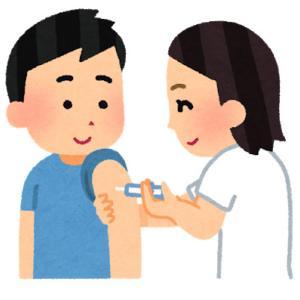 風疹の予防接種を受けたよ