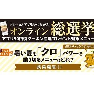 【ダイエーアプリ】アプリ50円引きクーポンが当たって大喜びする無職