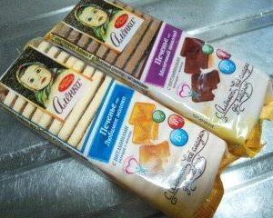 【業務スーパー】ロシア産のビスケット「アリョンカビスケット」(ココア)を買ってみました。(食レポ)