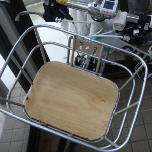 #088 自転車カゴに合う底板を作った。