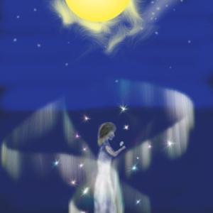 月下美人を描きたいな。