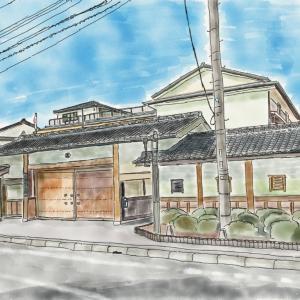 滋賀県  近江鉄道五個荘駅からはじまるウォーキング  その3