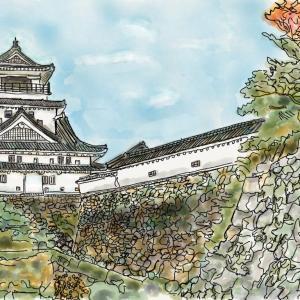 城の風景 高知城