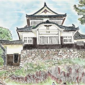 城の風景 備中松山城