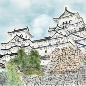城の風景 姫路城