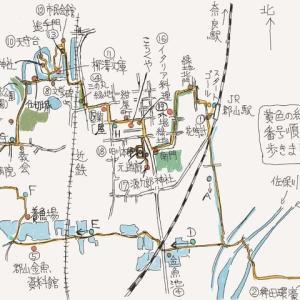 奈良  城下町大和郡山を歩く  その1